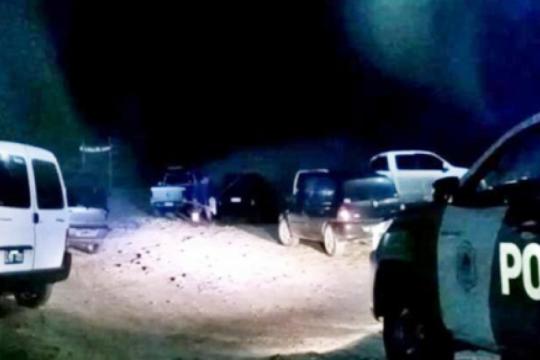 mar chiquita: desbaratan un torneo clandestino de pesca en el dia de mayor contagio