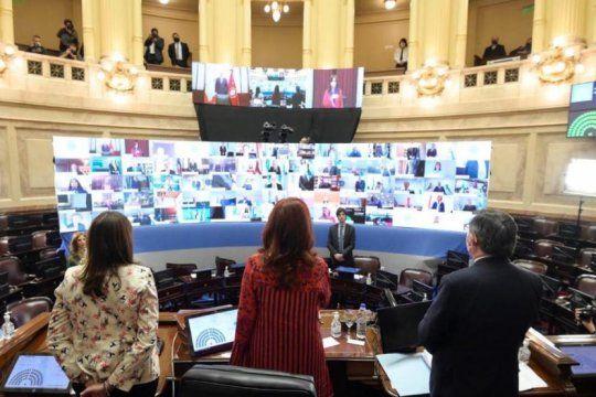 el senado sancionara leyes vinculadas a la pandemia: beneficios fiscales y proteccion para personal de salud