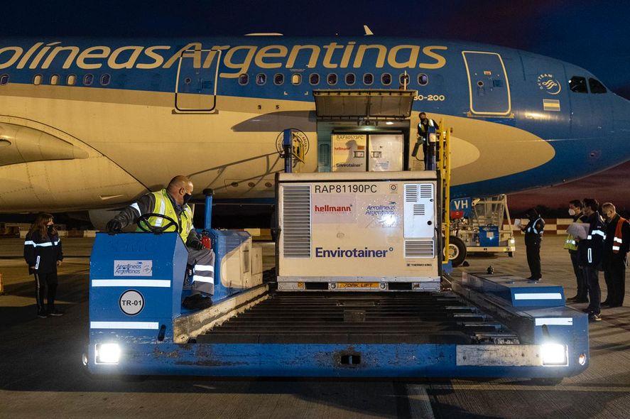 En lo que va de julio llegaron a Argentina más de 15 millones de vacunas contra el coronavirus