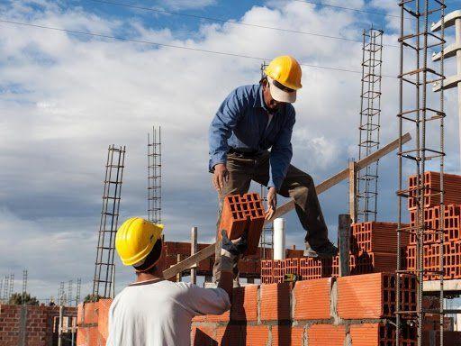 La construcción creció 321% interanual