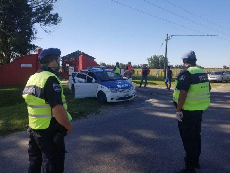 El robo fue cometido en una casa de calle Italia al 200 en Luján