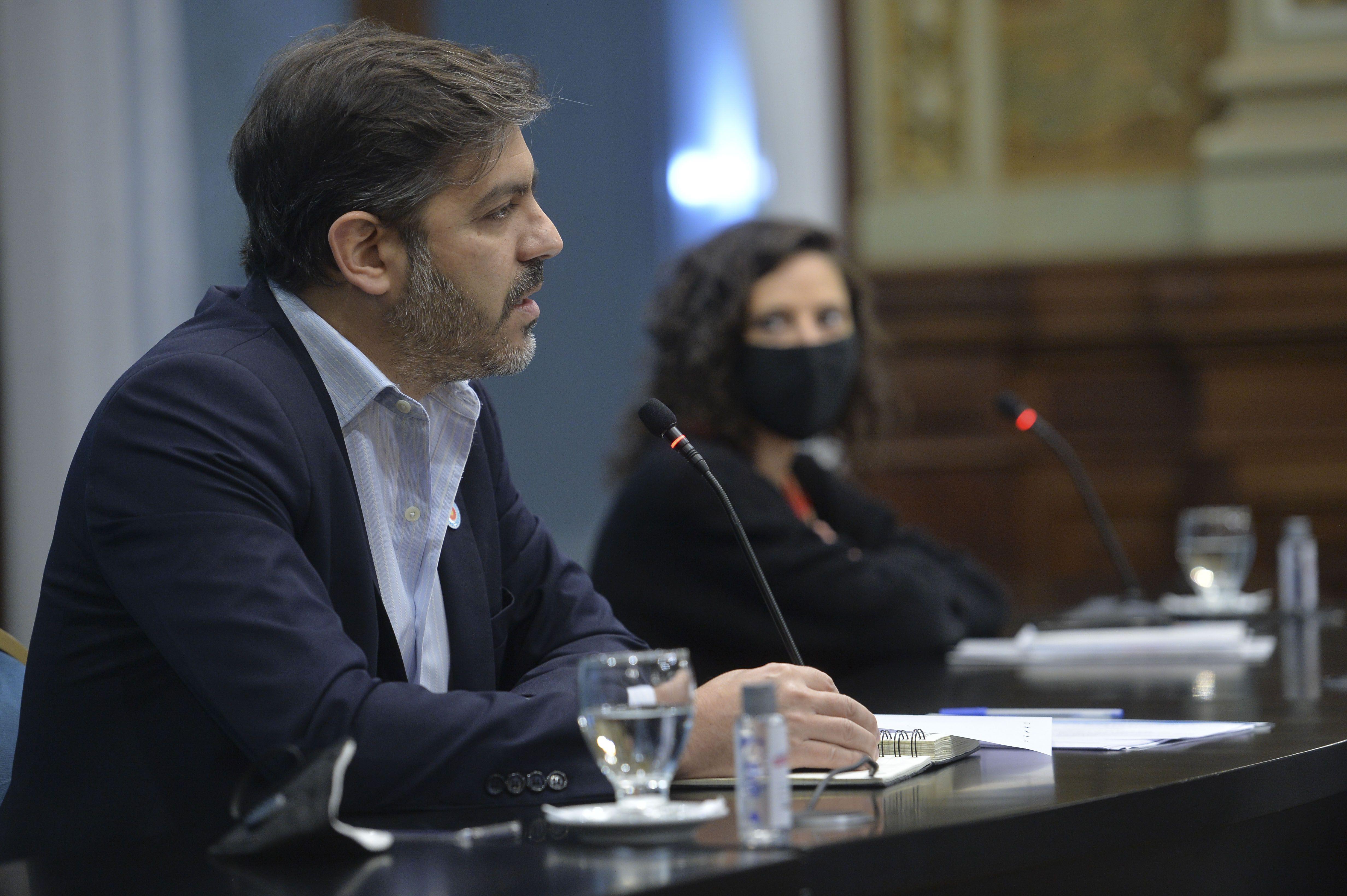 Carlos Bianco, jefe de Gabinete bonaerense