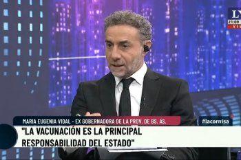 Luis Majul le pidió definiciones rápidas a María Eugenia Vidal para su candidatura