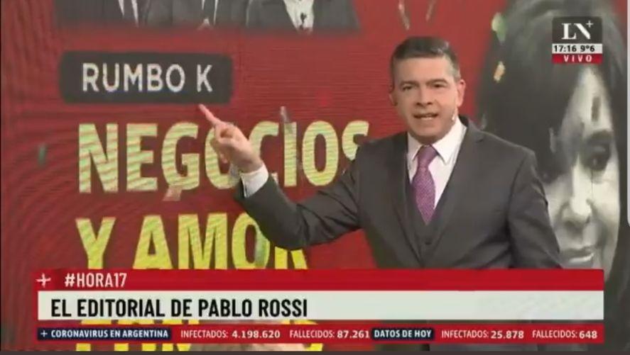 Pablo Rossi también integra la lista de periodistas iluminatis que saben del poder cósmico de la letra K