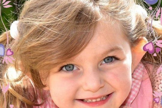 tiene cuatro anos, le encontraron un tumor cerebral y su familia pide ayuda para el tratamiento