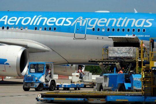 Aerolíneas Argentinas confirma que esta noche sale el cuarto vuelo de a Moscú para buscar vacunas