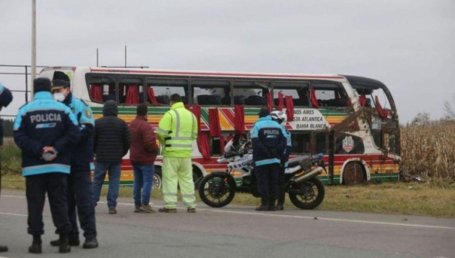 Por el accidente ocurrido ayer a la madrugada hubo dos muertos