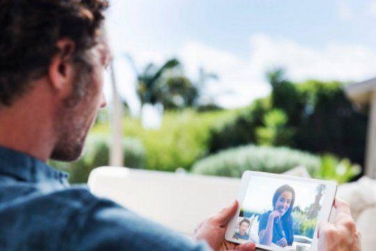 dia del padre en cuarentena: conoce como hacer videollamadas para celebrar con tus hijos a distancia