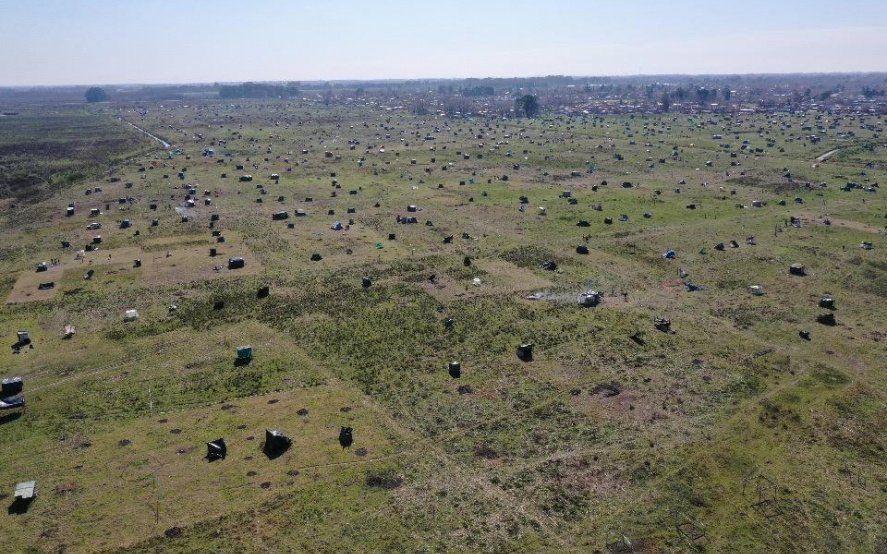 La toma de terrenos preocupa a los intendentes de la Provincia.
