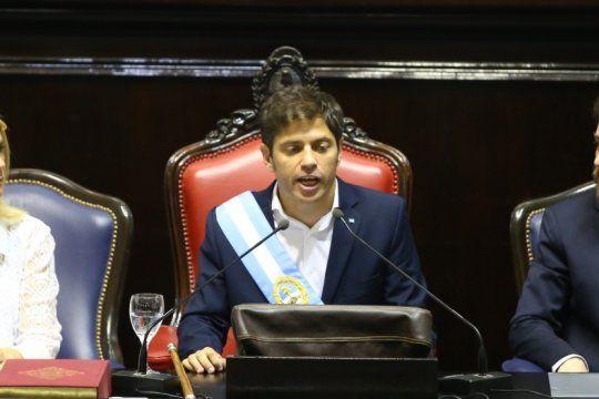en ?stand by?: kicillof espera definiciones de alberto fernandez para empezar a gobernar