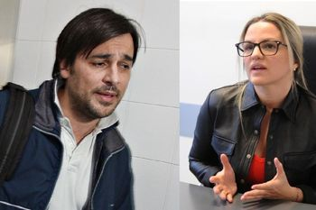Juan Buzali y Carolina Píparo