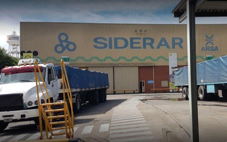 Paro total en la planta de Siderar en Morón por despidos injustificados