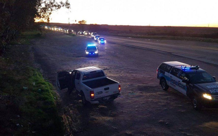 Caso Facundo: un móvil de la policía estuvo en el lugar de la aparición del cuerpo el 8 de mayo