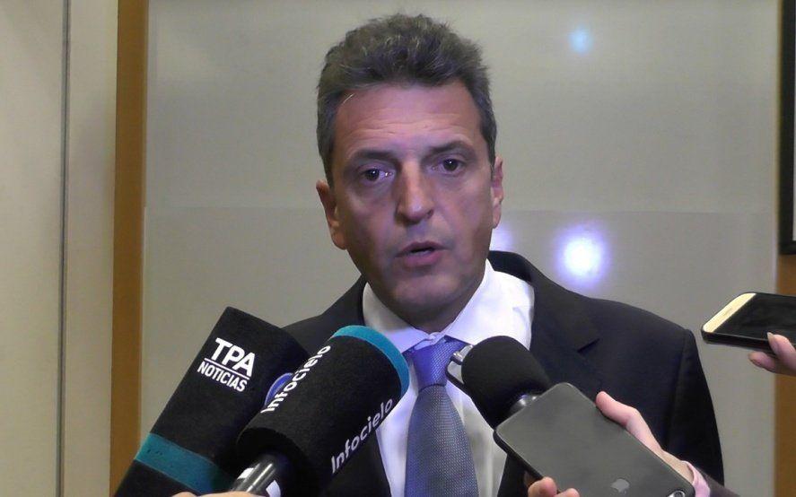 Massa: En Argentina ganan diez empresas y pierde el que trabaja y el que produce