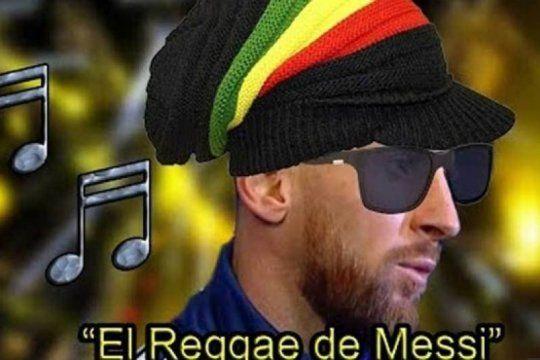 el reggae de messi: la desopilante cancion hecha con las criticas a conmebol