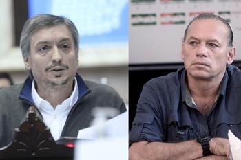 Sergio Berni confirmó que tiene diferencias electorales con Máximo Kirchner del Frente de Todos