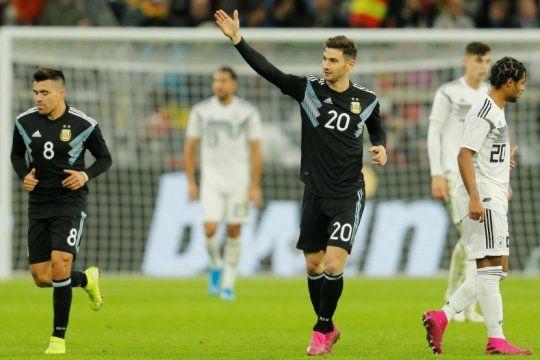 mira los goles: argentina ajusto las piezas y empato con alemania 2 a 2