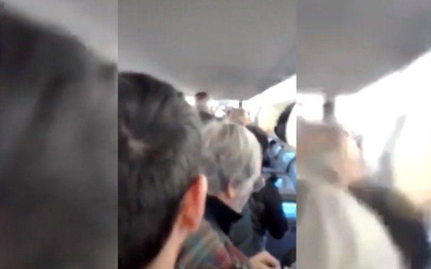 Mirá el video: Luis Brandoni protagonizó un escándalo en medio de un vuelo de Aerolíneas Argentinas
