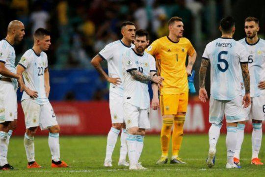 copa america: ¿argentina puede quedar eliminado si pierde esta noche?