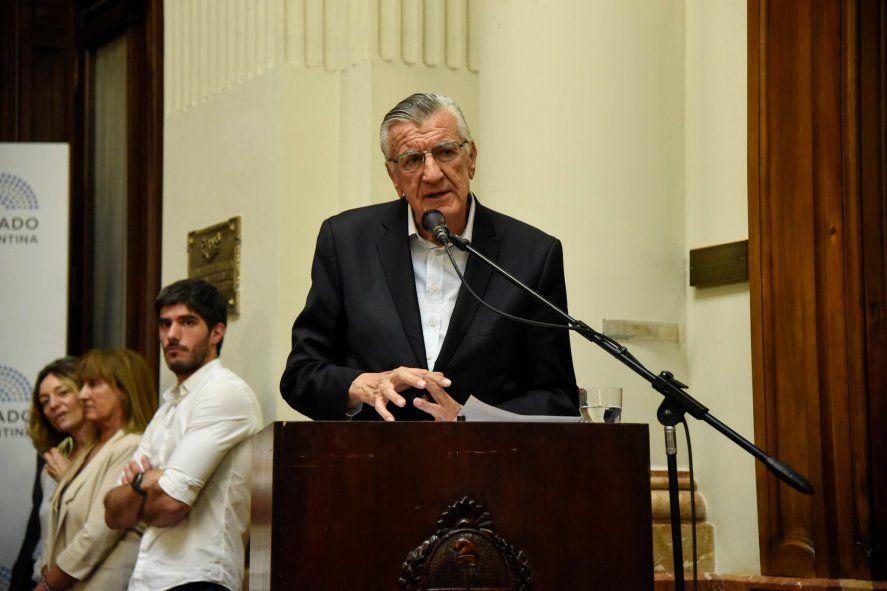 José Luis Gioja volvió a respaldar a Máximo Kirchner para conducir el PJ Bonaerense