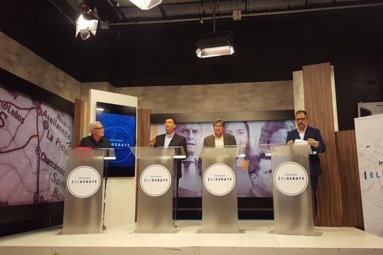 Ariel Archanco (Frente de Todos) y Fabián Perechodnik (Juntos) se cruzaron en Infocielo El Debate, sección La Plata.