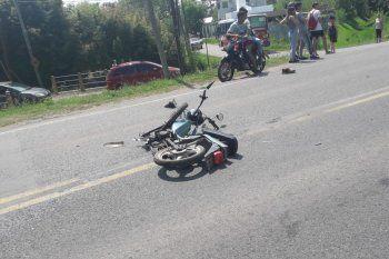 El motociclista fallecido tenía 41 años