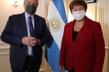 Georgieva, tras reunión con Alberto: fue muy positiva