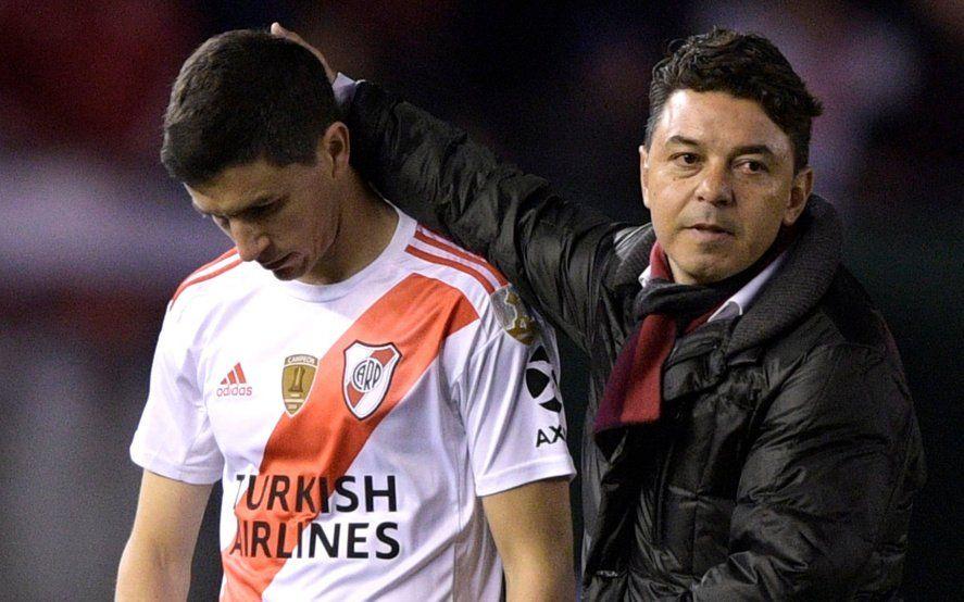 Nacho Fernández le aviso a Gallardo de su intención de dejar River