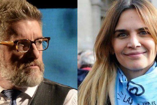 Granata y Novaresio se cruzaron por el aborto en Twitter