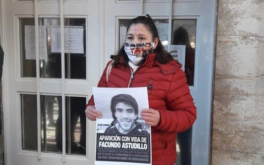 El sistema judicial no quiere hacer nada, dijo la mamá de Facundo Astudillo