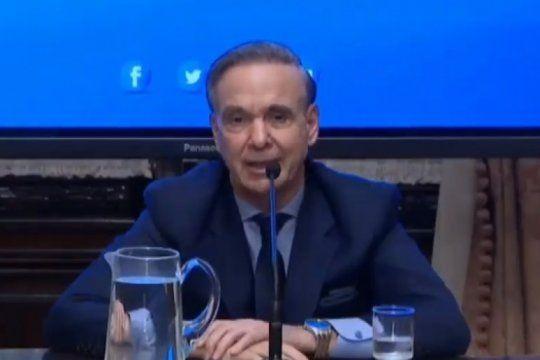 pichetto renuncio a la presidencia del bloque justicialista y ratifico: ?mi compromiso ahora es con la propuesta de macri?
