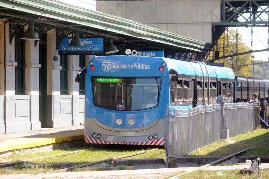 La ampliación del Tren Universitario incluirá cuatro nuevas paradas