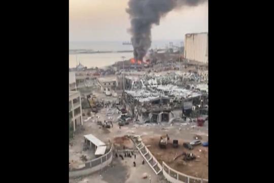 explosion en beirut: destrozos y un ?incalculable? numero de victimas