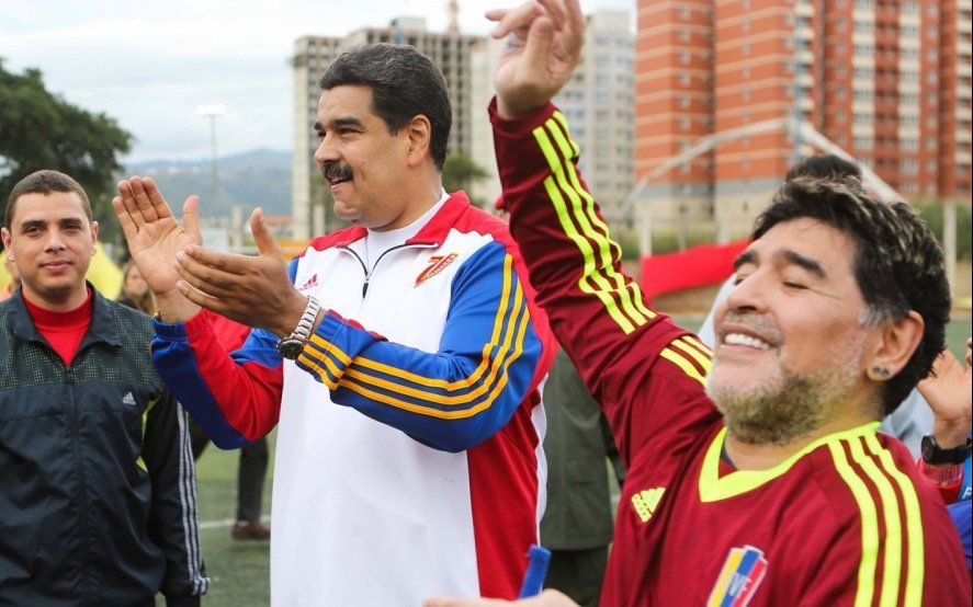 El mundo habla de la chance de Diego Maradona para ser el técnico de la Selección de Venezuela