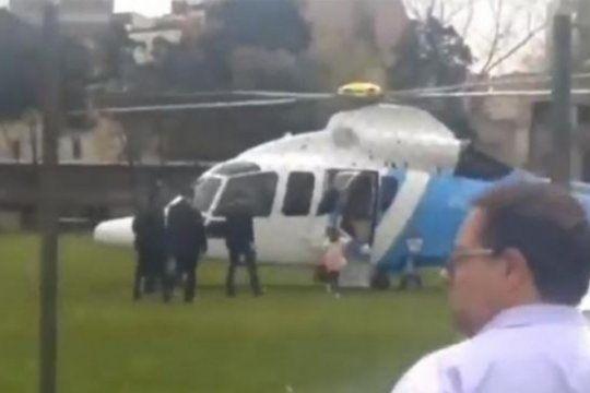 austeridad cero: lluvia de criticas por el video de macri y antonia en el helicoptero oficial
