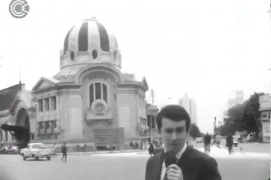 Un programa de archivo que pregunta en La Plata y Bahia Blanca a los transeúntes que piensan de los hippies en 1971 con un joven Andrés Oppenheimer