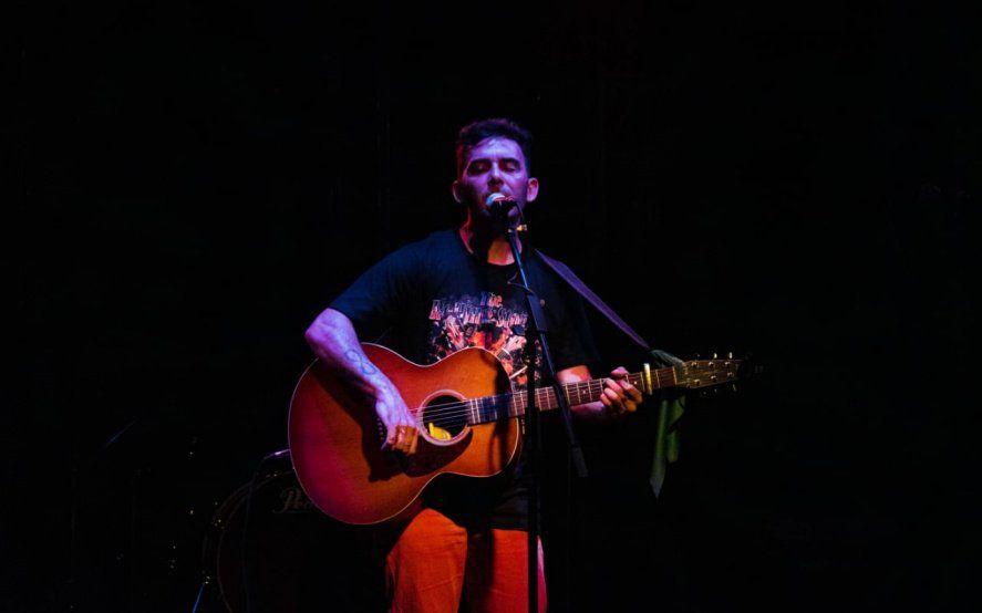 """Diego Ocampo sobre la salida de su disco: """"Se me ocurrió hacer una presentación online con músicos amigos"""""""