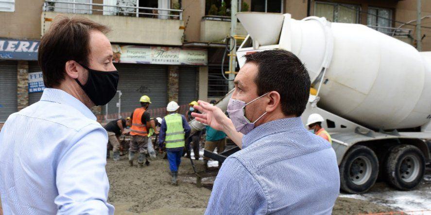 Sorprendió la visita de Pablo López a distritos de la tercera