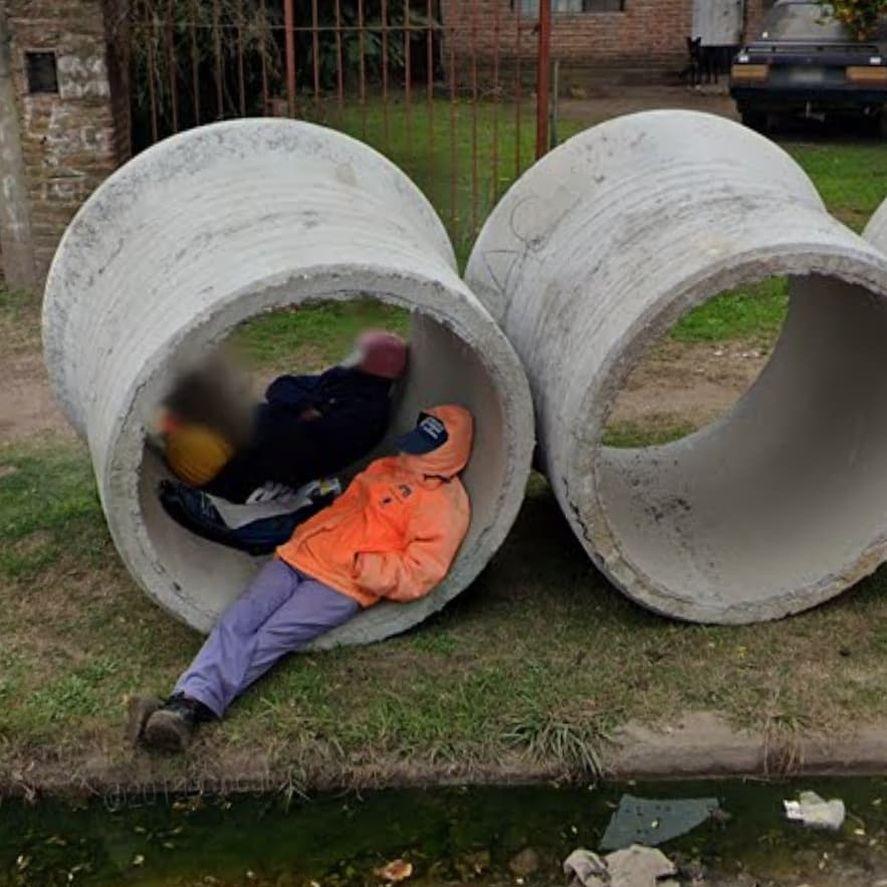 Otra insólita captura del Conurbano en Conurmaps