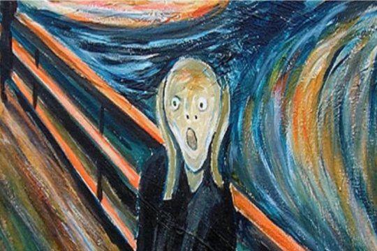 El Grito, de Edvard Munch