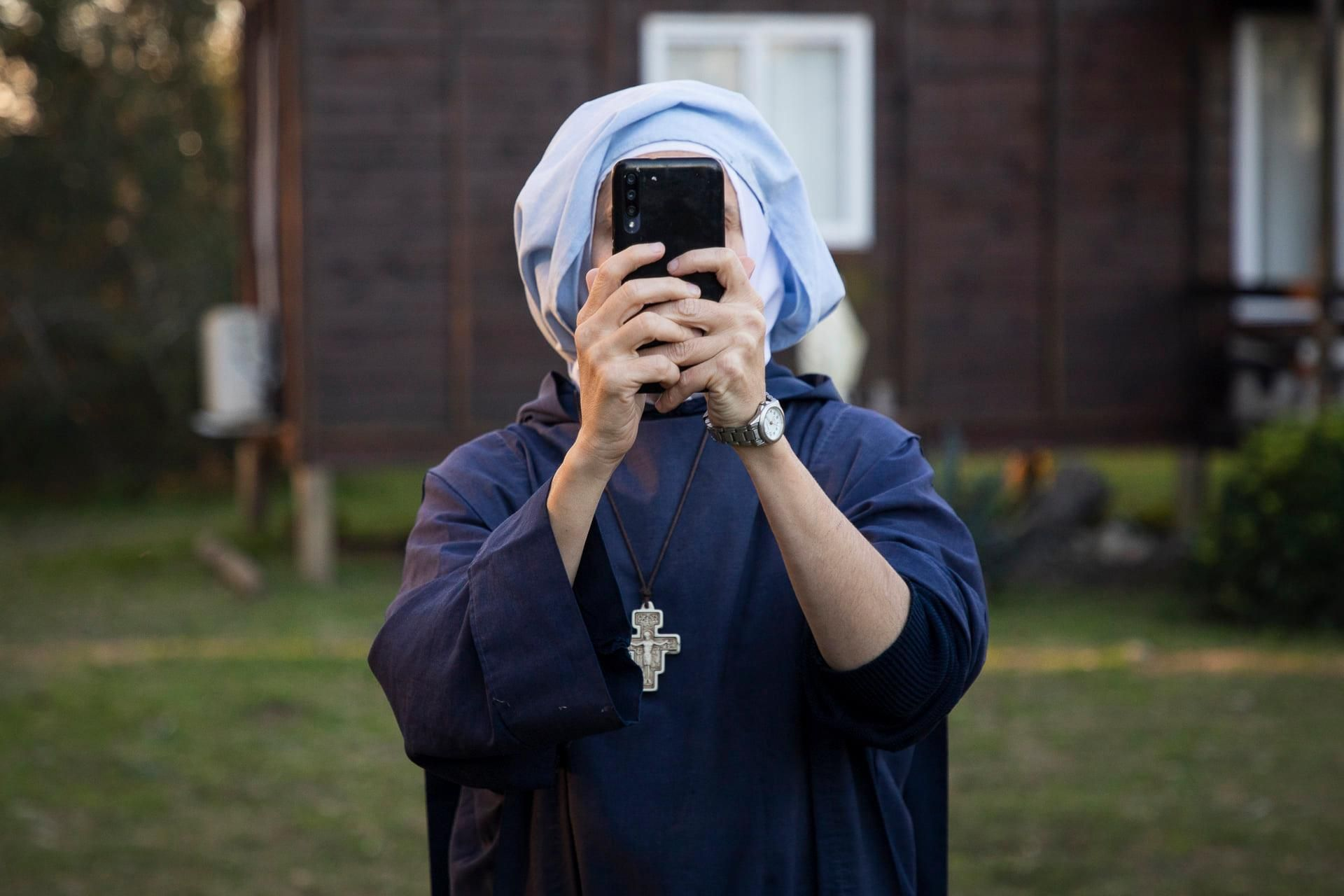 La monja fue desalojada del predio (Foto: Leo Crovetto - Punta Querandí)
