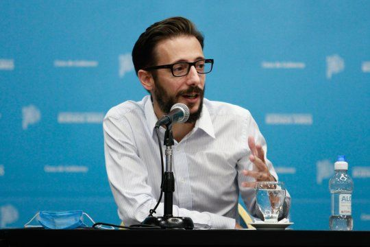 El ministro de Infraestructura, Agustín Simone, aseguró que hay mucho trabajo por hacer en las escuelas.