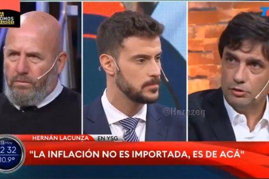 Hernán Lacunza apelando a su recurso favorito, la metáfora para explicar la inflación