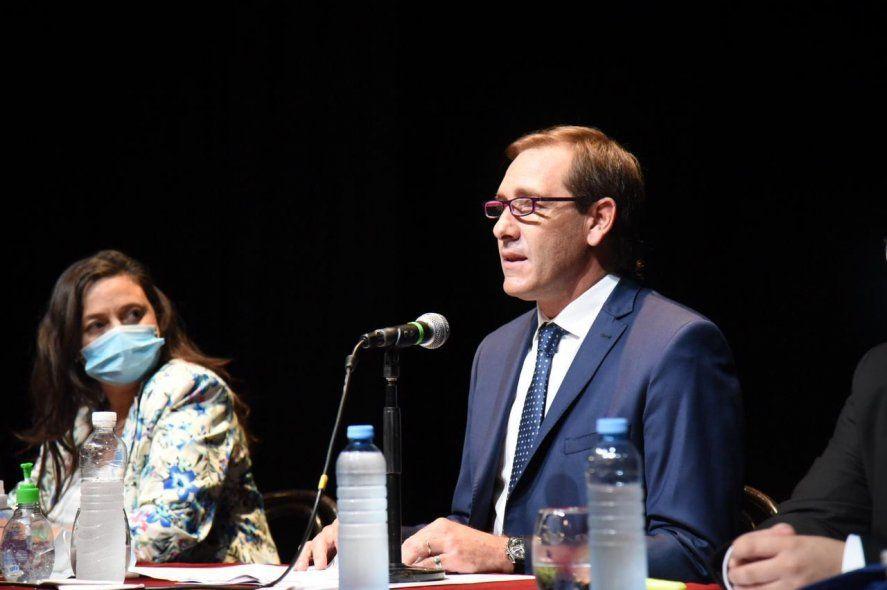 Julio Garro y un anuncio sorpresa en la apertura de sesiones en La Plata