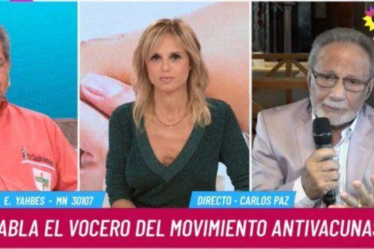 polemica en twitter: repudiaron la presencia de un medico antivacunas en el programa de mariana fabbiani