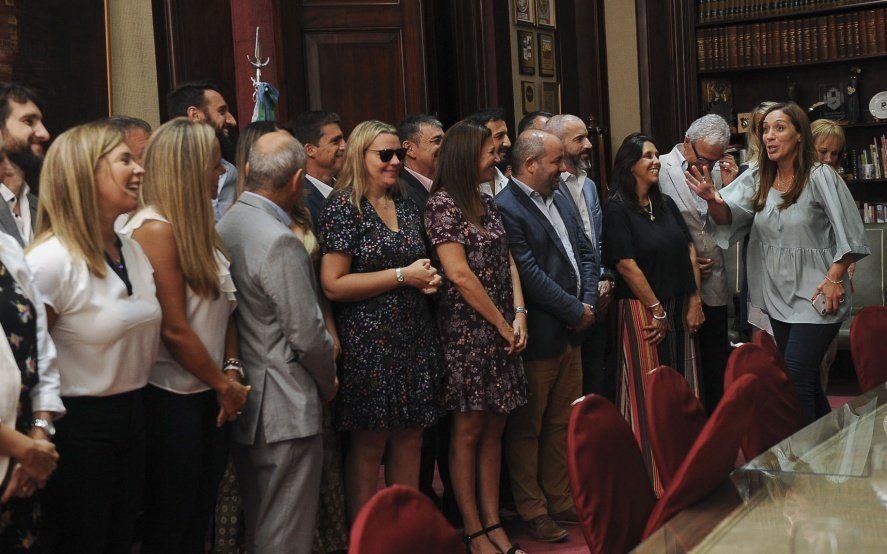 Vidal congregó a sus senadores: habló de su candidatura y trasladó ejes de campaña