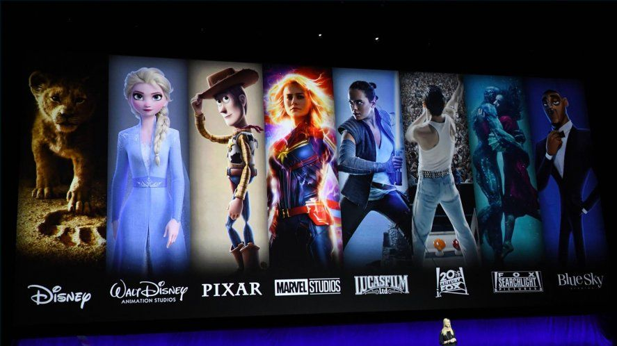 Contenidos de Disney Plus disponibles en Argentina