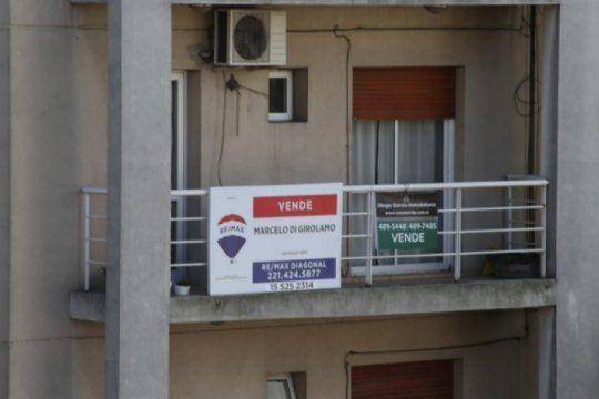 fuerte caida del mercado inmobiliario: cayo mas de un 20% la venta de propiedades