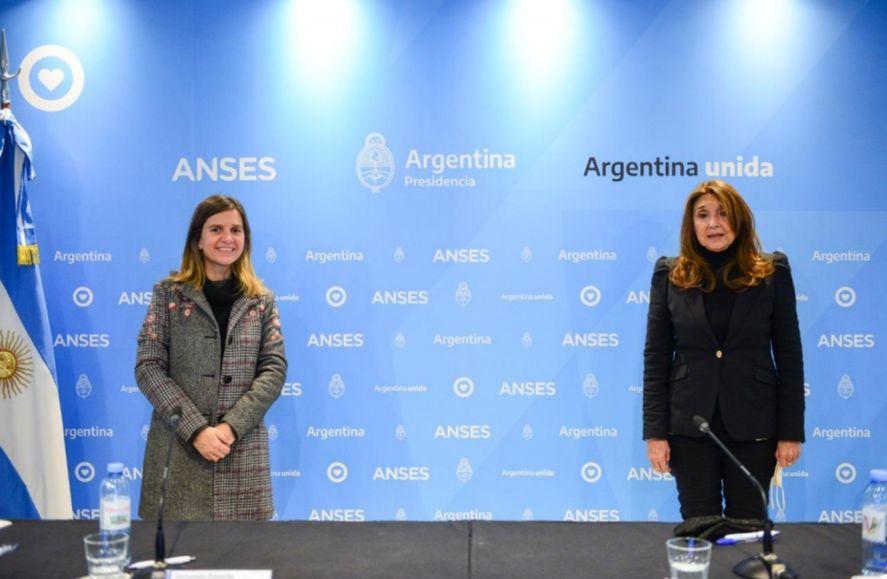 Fernanda Raverta y Marisa Graham acordaron desarrollar estrategias para aquellos niños y niñas que aún no pudieron acceder a la AUH