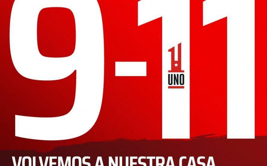 9/11: Verón le puso fecha a la inauguración del estadio pincha